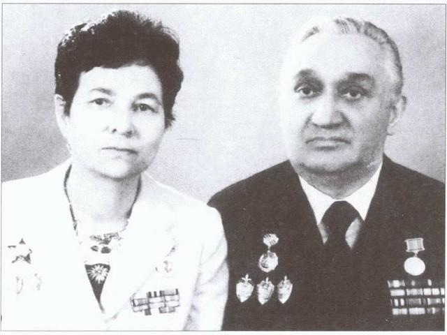 Супруги-разведчики Михаил и Галина Федоровы