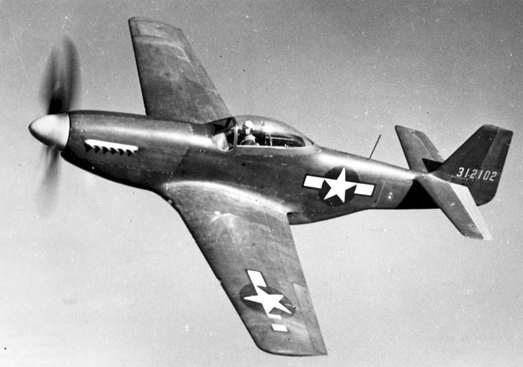 Норт Америкен P-51D «Мустанг» - лучший американский истребитель Второй мировой войны