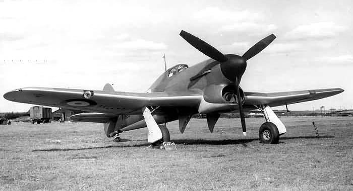 Истребитель-бомбардировщик Хоукер «Тайфун» IB