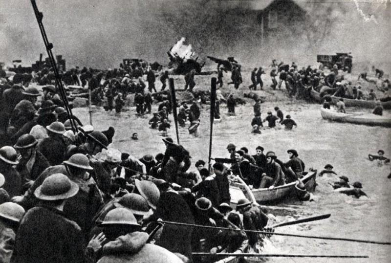 Эвакуация союзных войск. «Дюнкеркская операция» (26 мая — 4 июня 1940 г.)