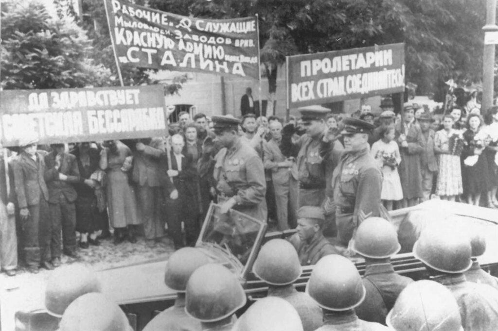 Присоединение Бессарабии и Северной Буковины к Советскому Союзу. (28 июня — 3 июля 1940 г.)
