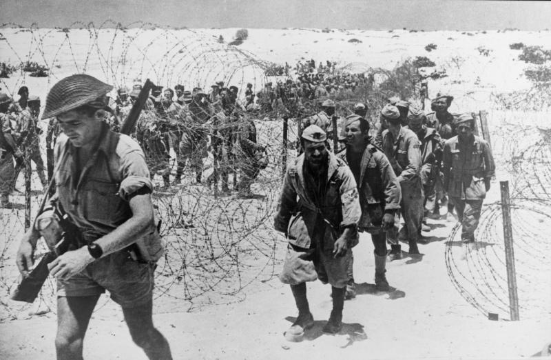События Африканской кампании (13 сентября 1940 г. - 13 мая 1943 г.)