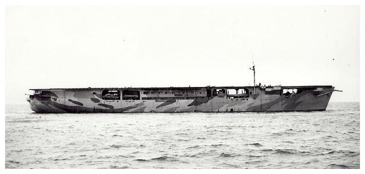 Британский эскортный авианосец «Одэсити»