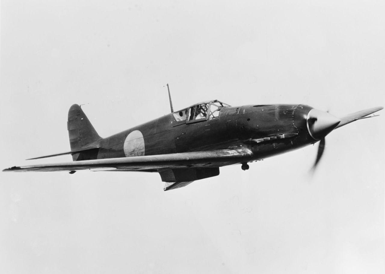 Кавасаки Ki-61 - одноместный цельнометаллический истребитель