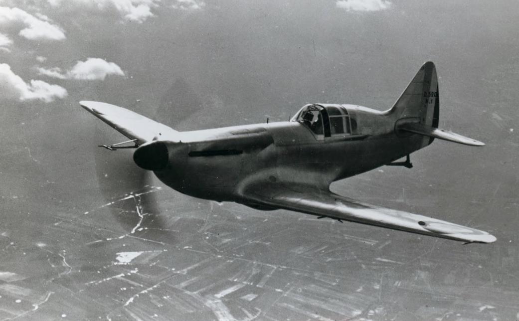 Девуатин D.520 - одноместный французский истребитель