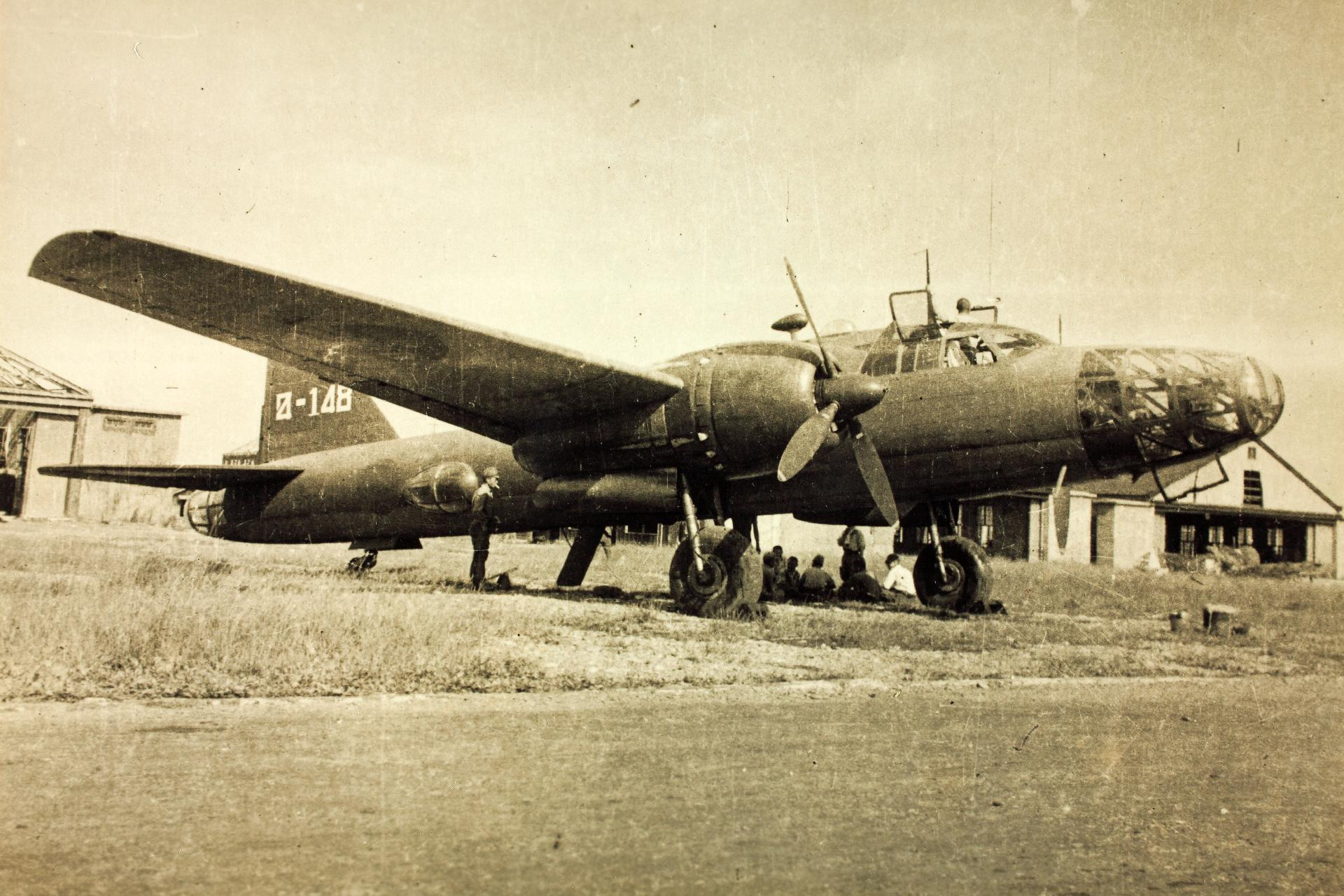 Мицубиси Ki-67 «Хирю» - двухмоторный цельнометаллический бомбардировщик