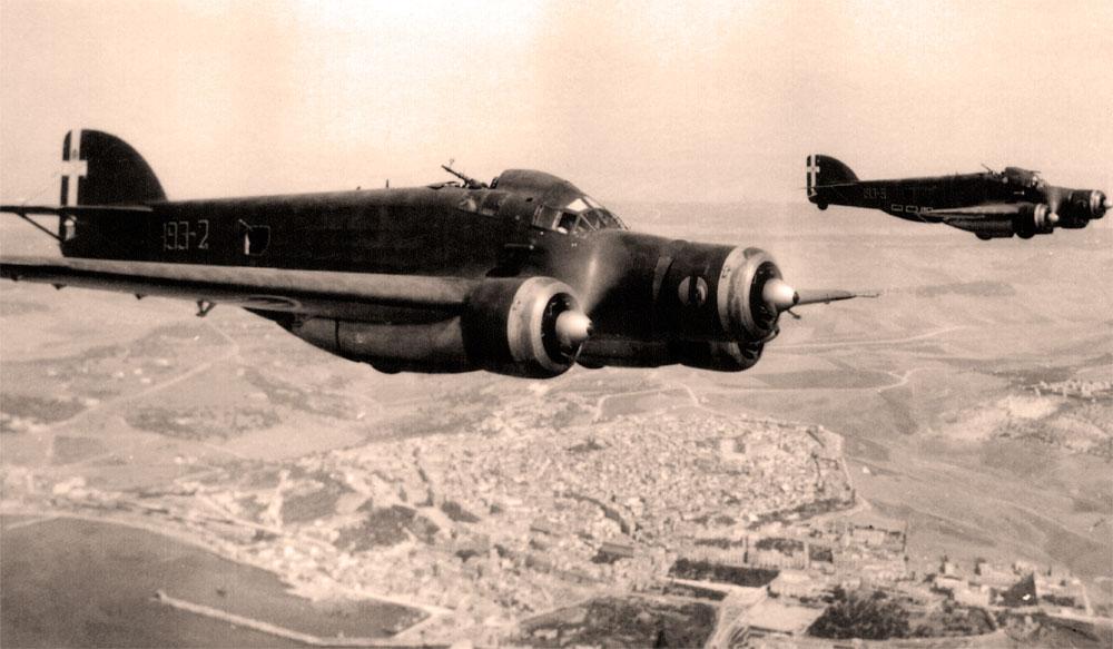 Бомбардировщик Савойя-Маркетти 79-11 «Спарвьеро»