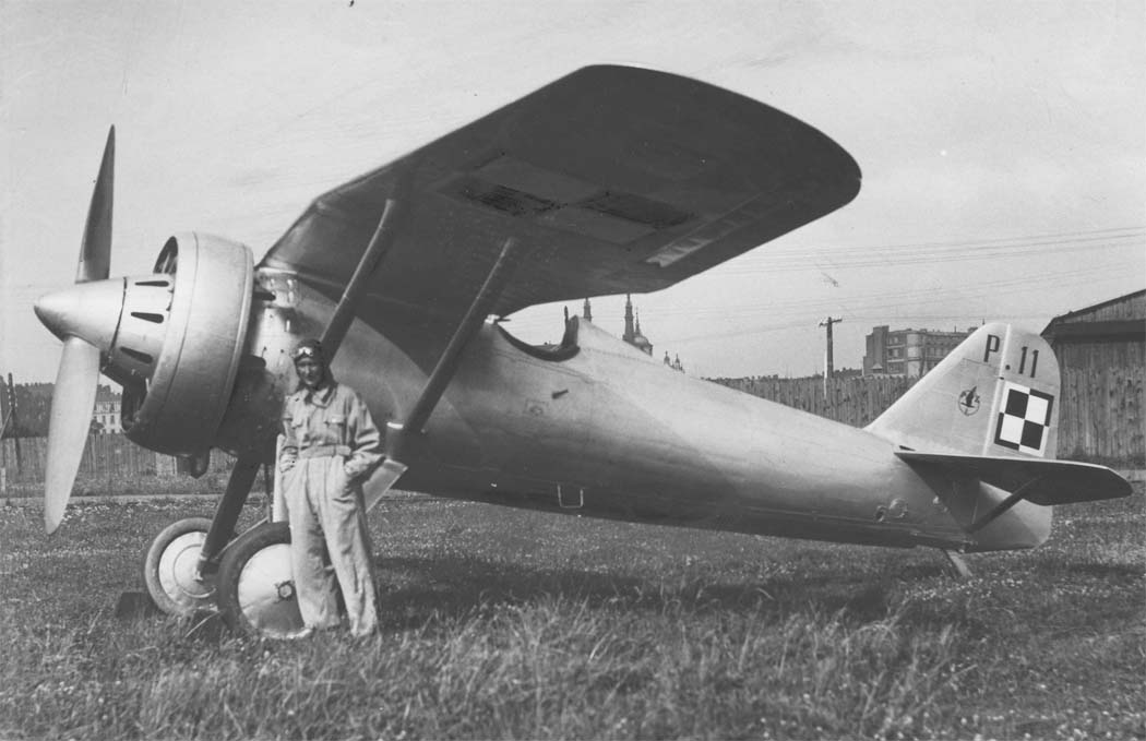 PZL Р.11 - польский одномоторный истребитель-моноплан