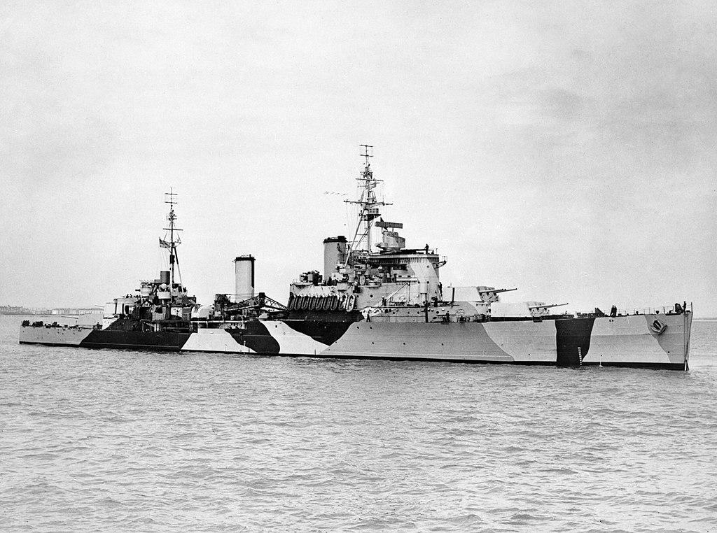 Британский крейсер «Ямайка»