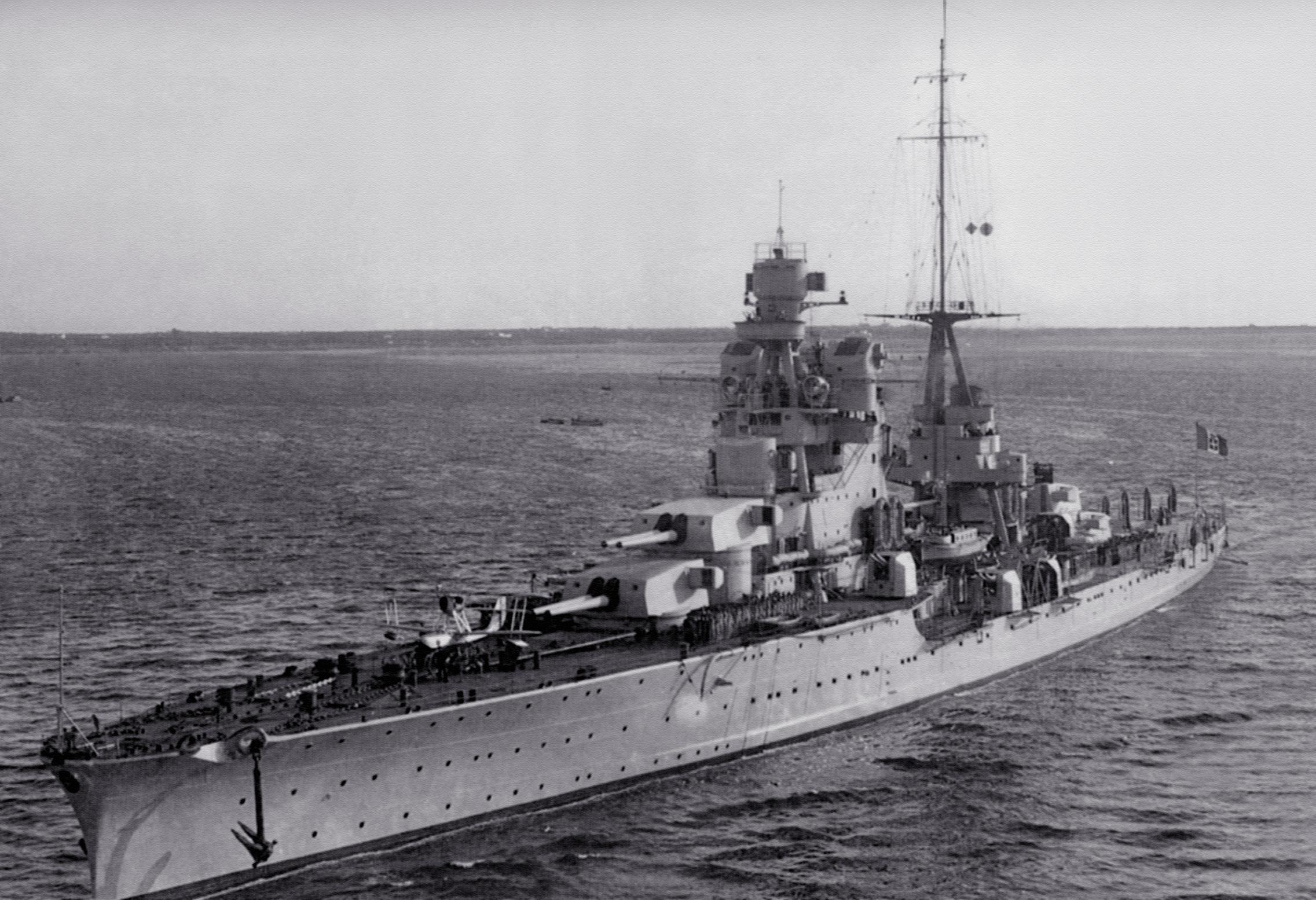 Итальянский тяжелый крейсер «Пола»