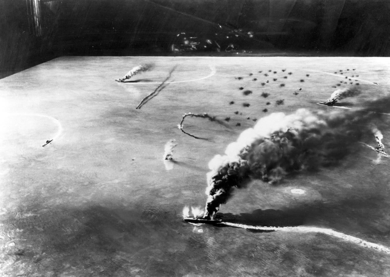Мидуэй-Алеутская операция (3—5 июня 1942 г.)