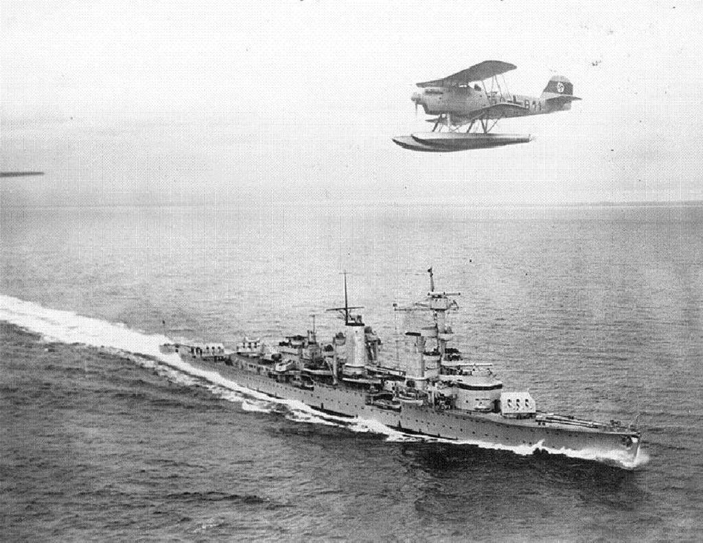 Германский крейсер «Кёльн»