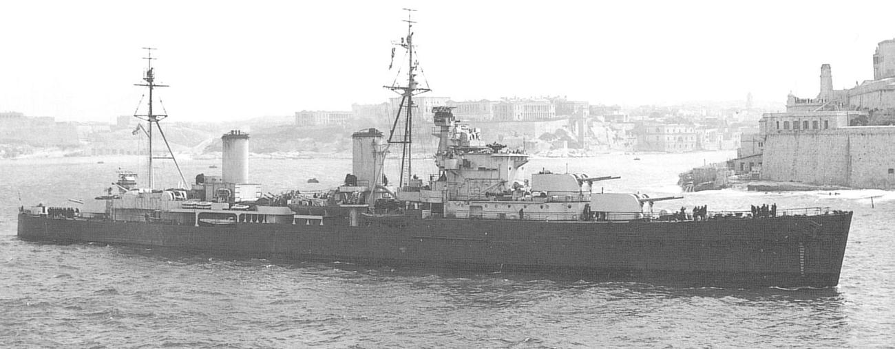 Британский крейсер «Пенелопа»