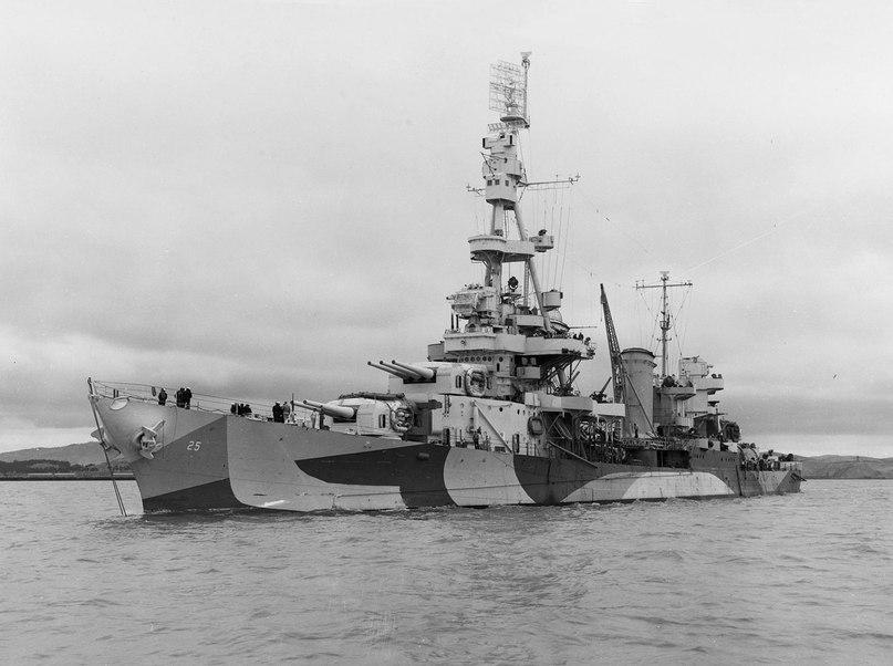 Американский крейсер «Пенсакола» (СА-24)