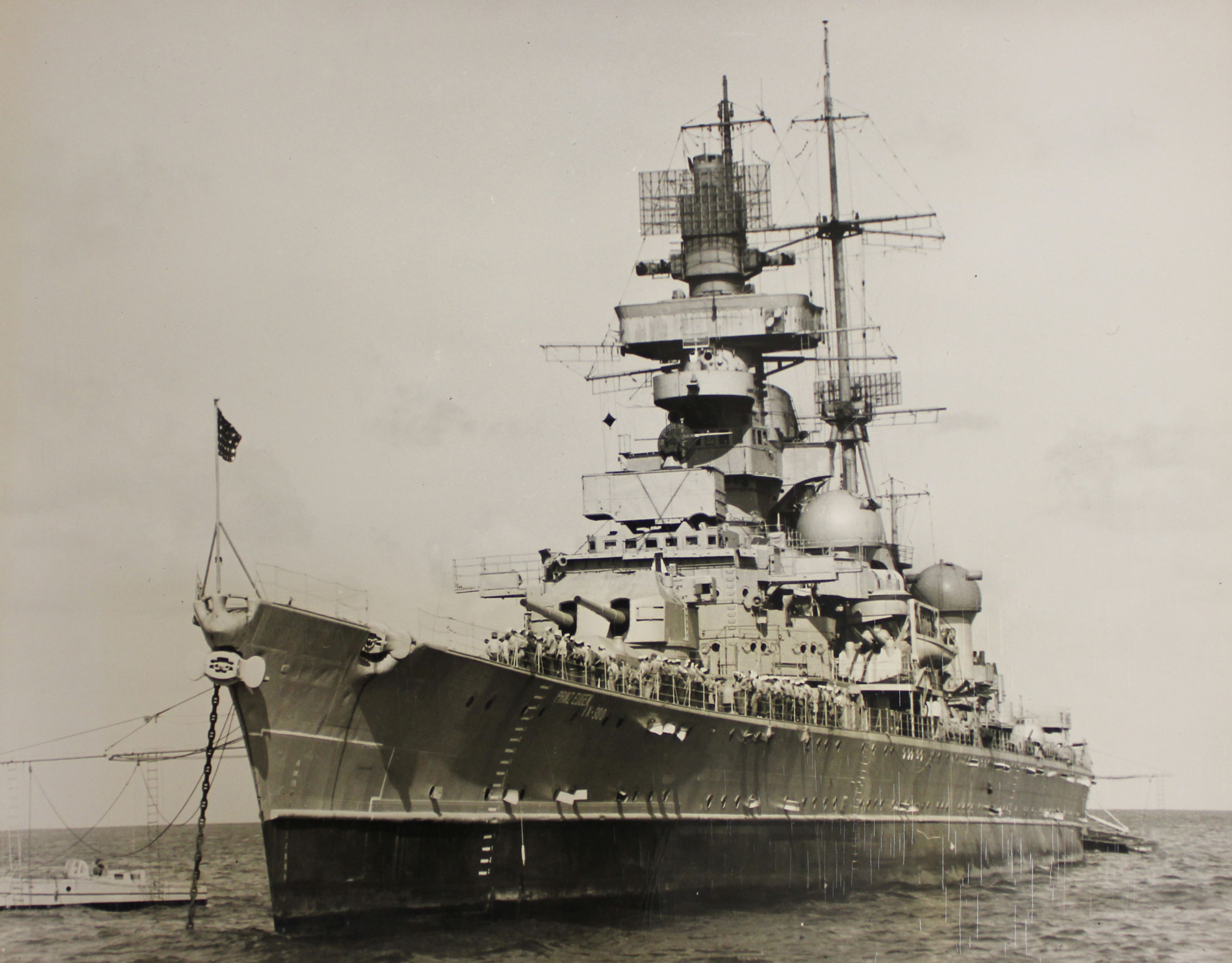 Германский тяжелый крейсер «Принц Евгений»