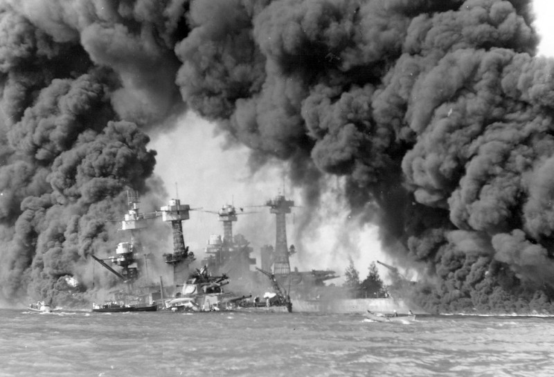 Захватнические амбиции Японии. Нападение на Пёрл Харбор (7 декабря 1941 г.)