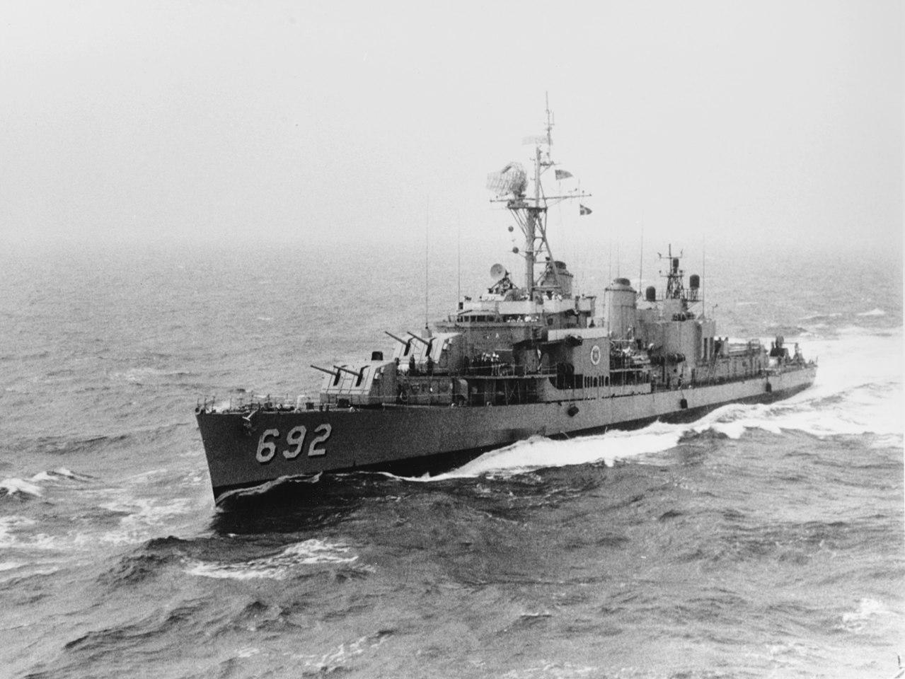Американский эсминец «Аллен М. Самнер» (DD-692)