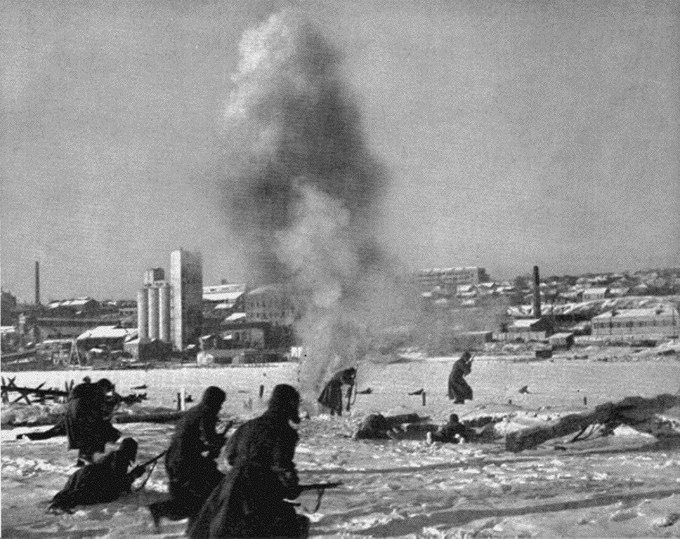 Освобождение Ростова- на-Дону (1 января — 18 февраля 1943 г.)