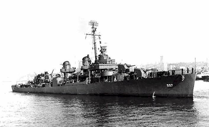 Американский эсминец «Джонстон» (DD-557)