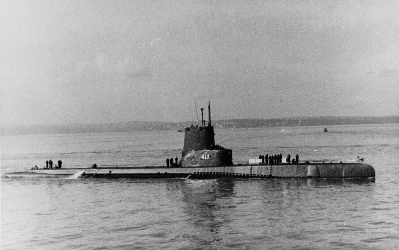 Американская подводная лодка «Тенч» (SS-417)