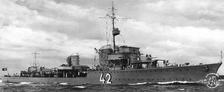 Германский эсминец «Карл Гальштер»