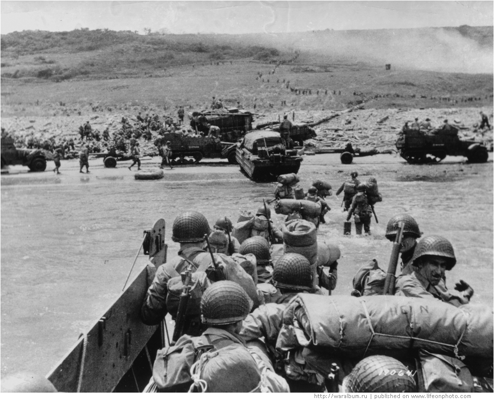 Выход союзников к границам Германии (25 июля — 11 сентября 1944 г.)
