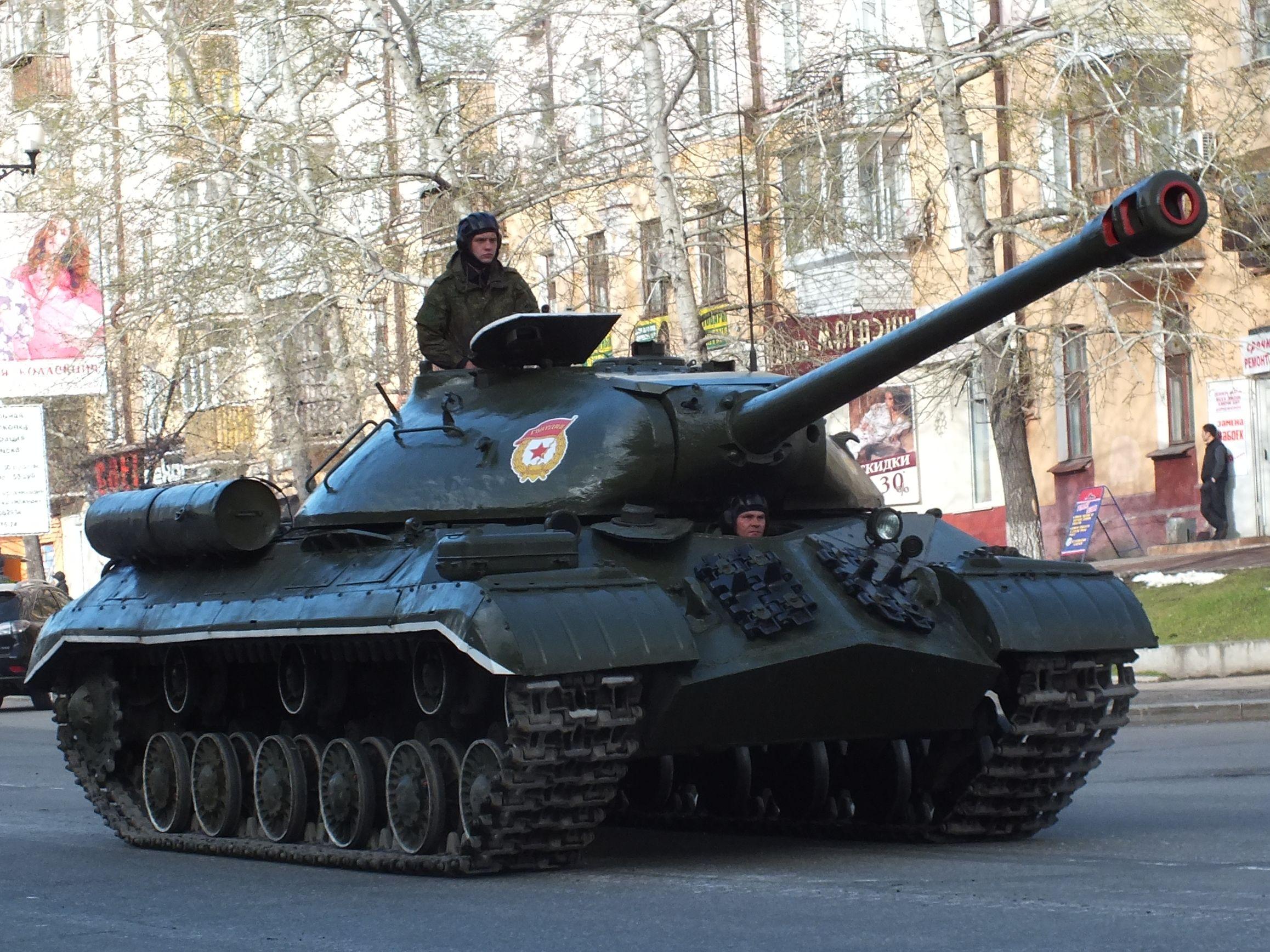 Танк ИС-3М - последний из военного поколения