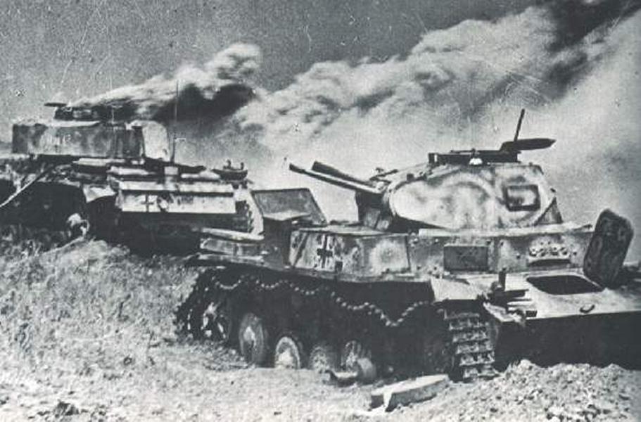 Русская смекалка против немецких танков