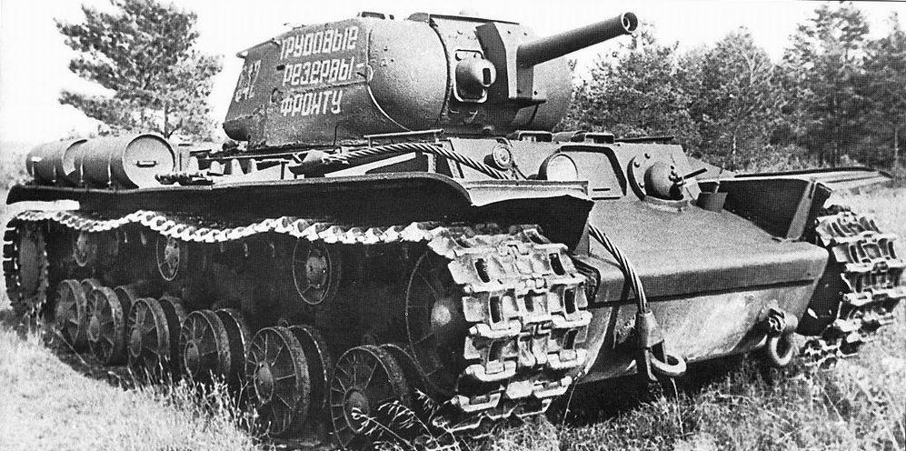 Тяжёлый огнемётный танк КВ-8