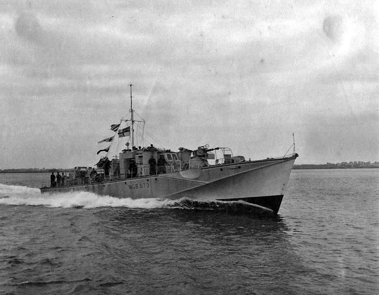 Британский торпедный катер «Фэрмайл» МТВ Тип С