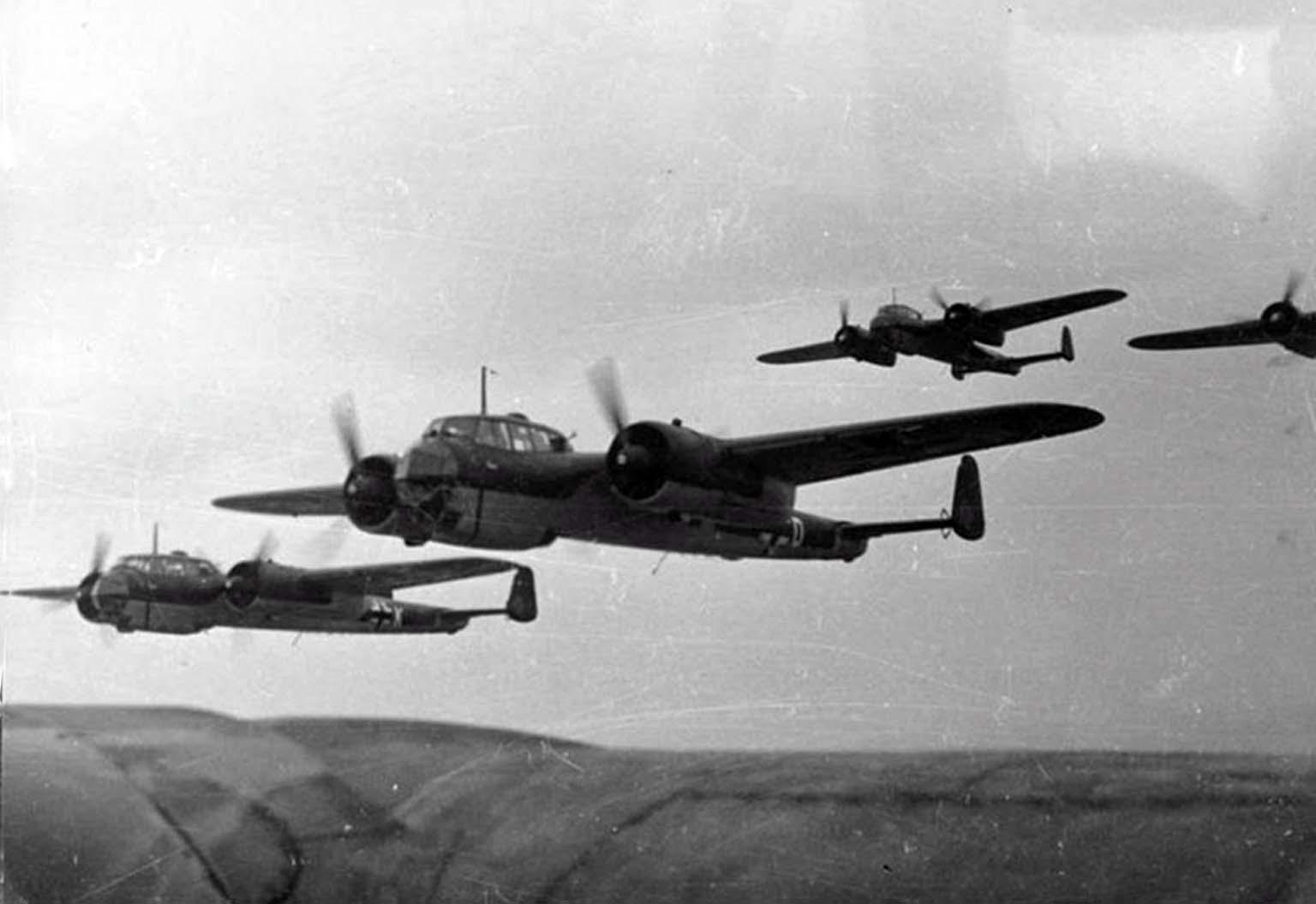 """Немецкий истребитель Dornier Do 17 В """"Kauz III"""""""