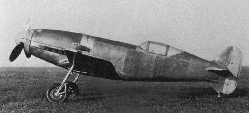 Немецкий истребитель Messerschmitt Me 209/I