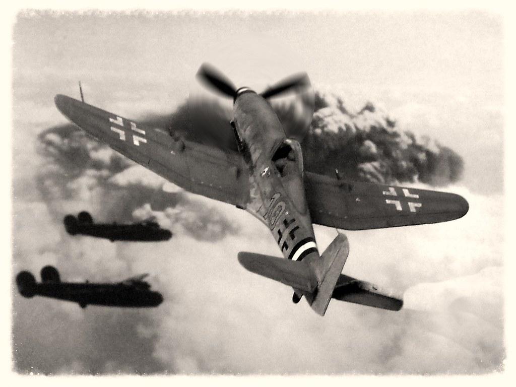 Немецкий истребитель Heinkel He 100