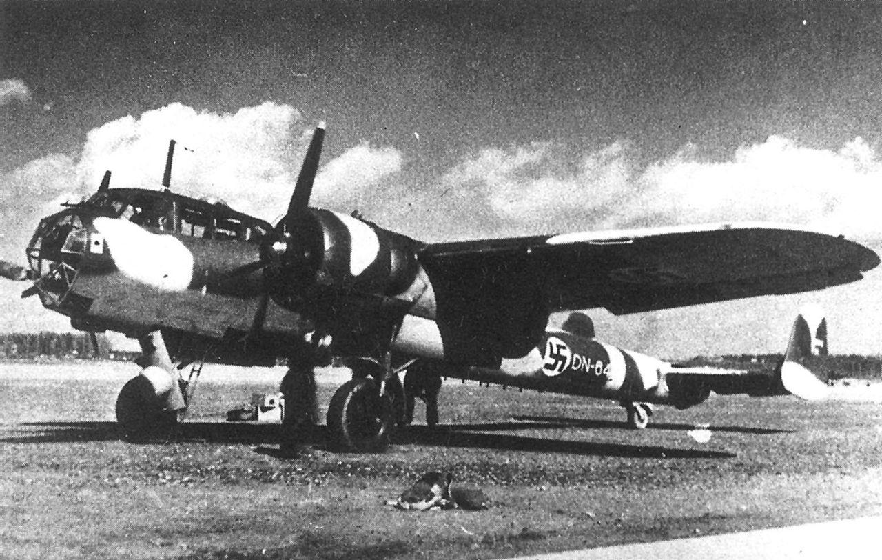 """Немецкий истребитель Dornier Do 17 Z """"Kauz"""""""