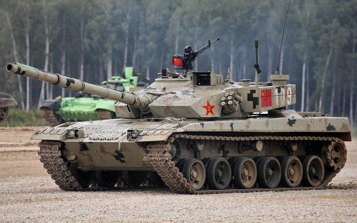 Основной боевой танк Китая МВТ-2000