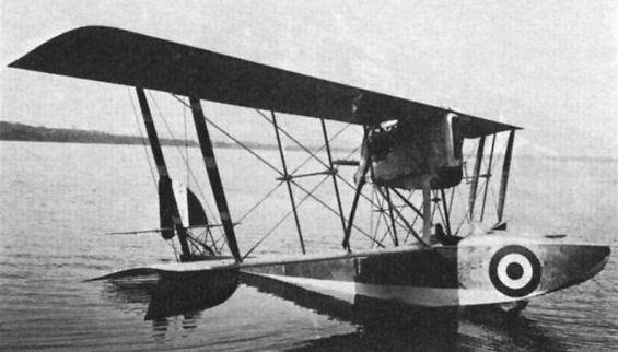 Итальянский гидроистребитель Macchi M.6