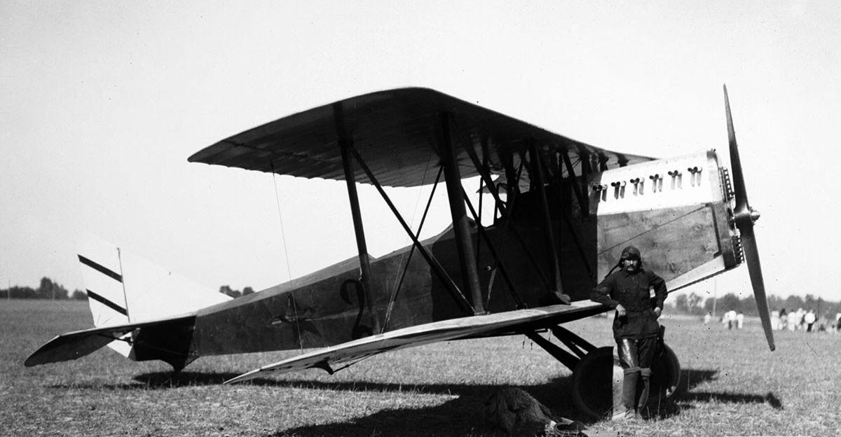 Итальянский истребитель Ansaldo А.С.3