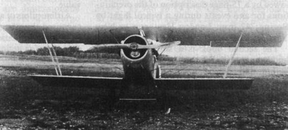 Итальянский истребитель Gabardini G.9