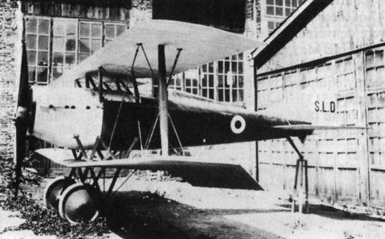 Итальянский истребитель Ducrot S.L.D