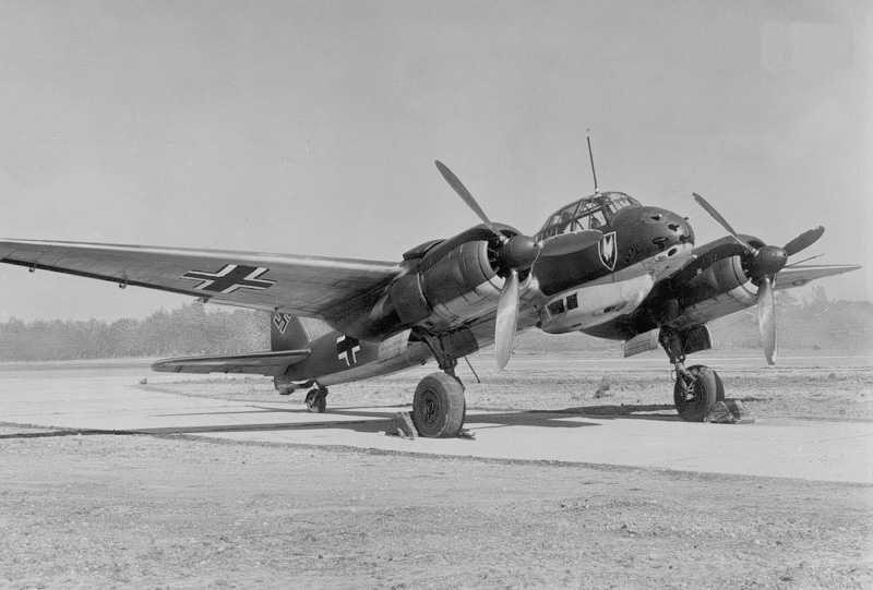 Немецкие истребители-перехватчики Junkers Ju 88