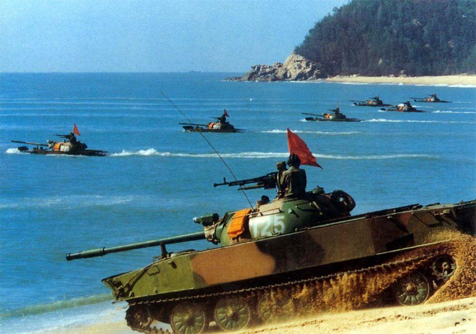 "Китайский лёгкий плавающий танк ""Туре 63"""