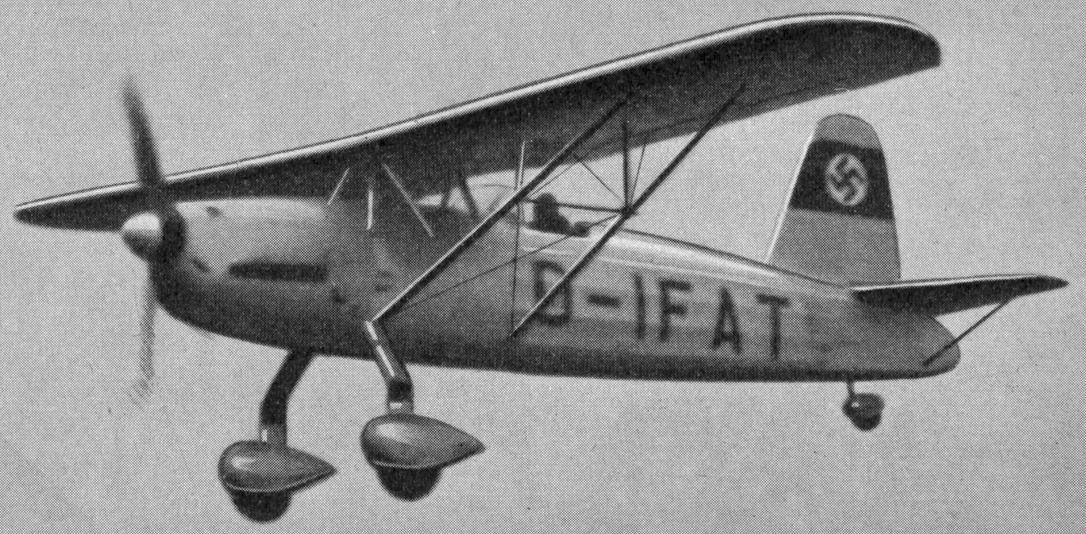 Немецкий истребитель Arado Ar.76