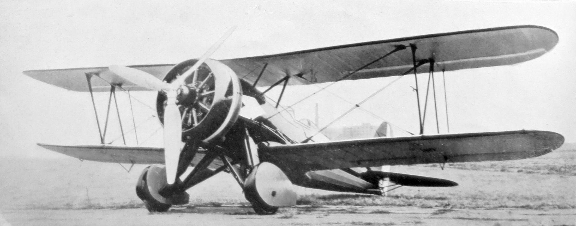 Итальянский истребитель Caproni Ca.114