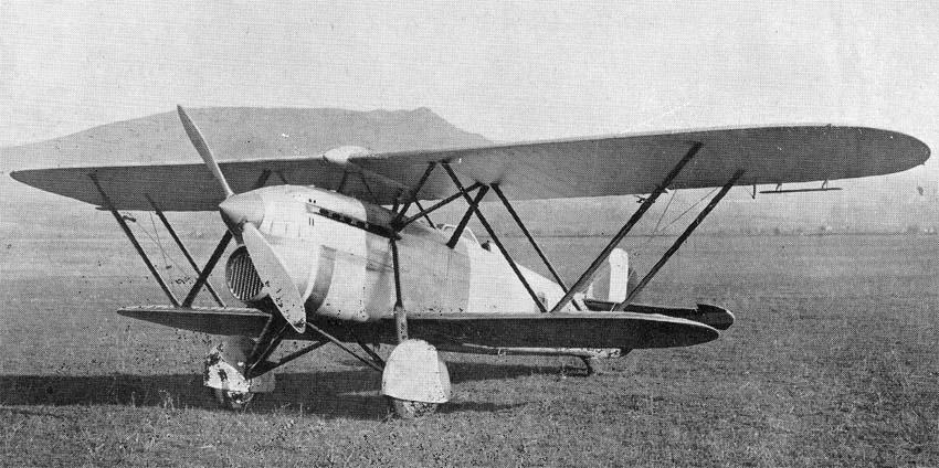 Итальянский истребитель Fiat CR.30