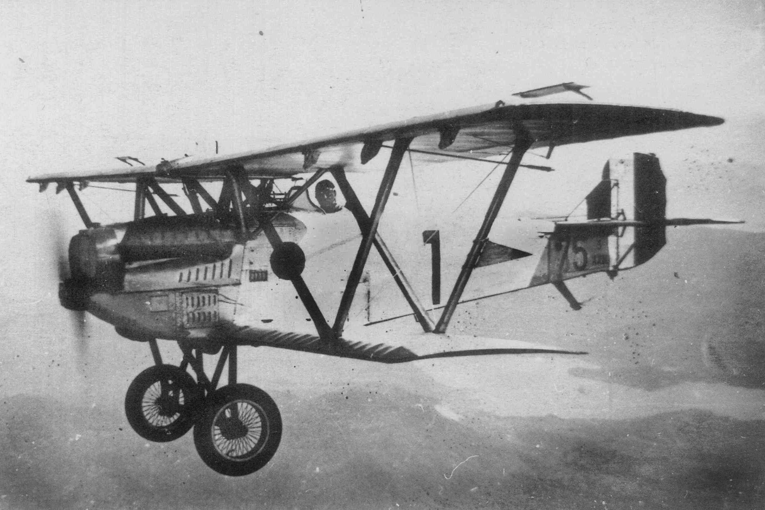 Итальянский истребитель Fiat CR.20