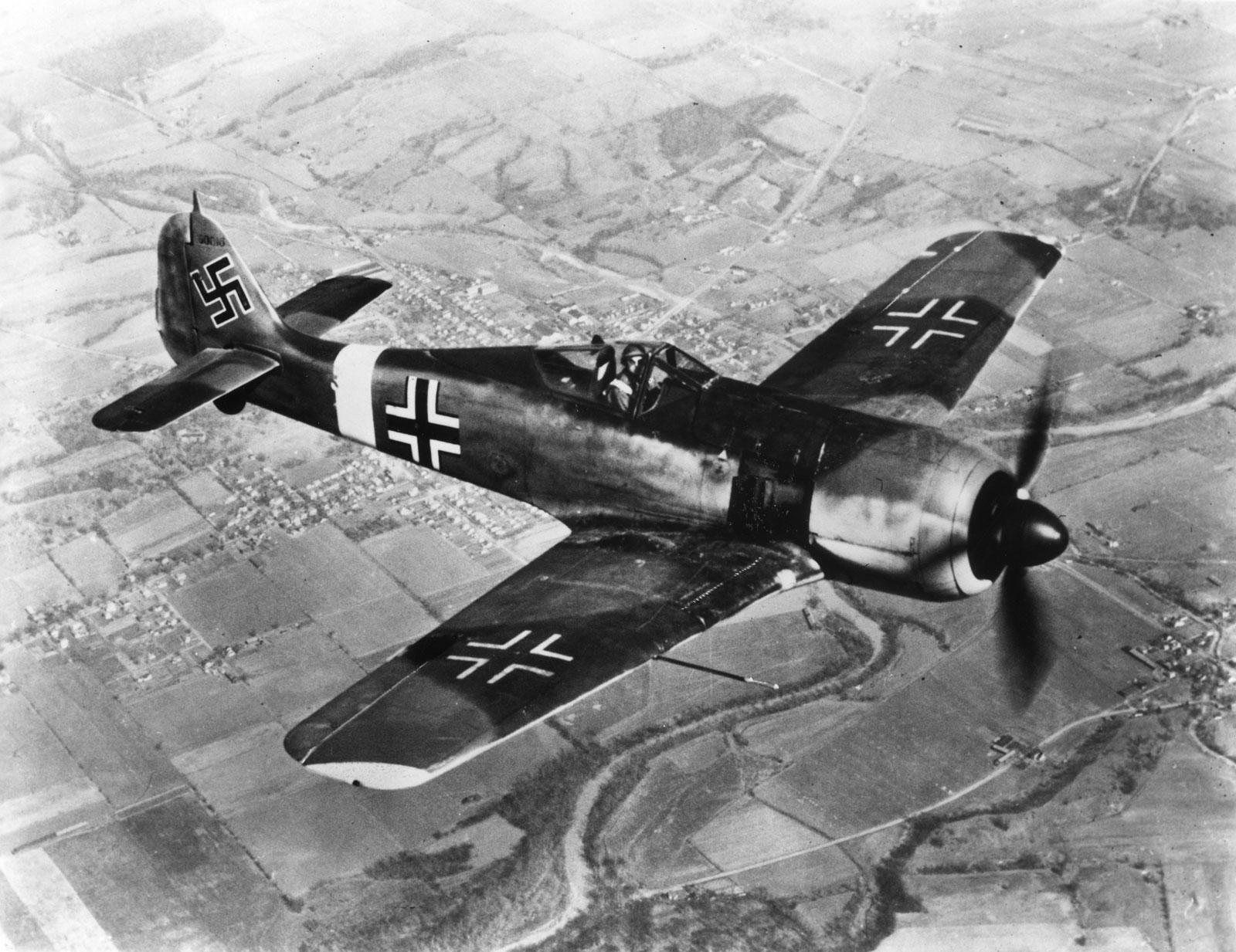 Немецкий истребитель Focke-Wulf Fw 190