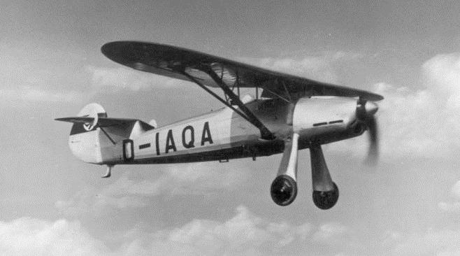 Немецкий истребитель Focke-Wulf Fw 159