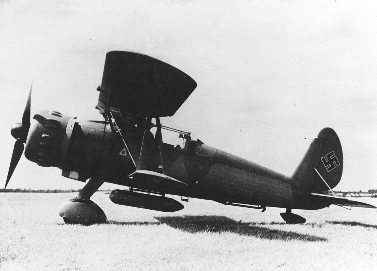 Немецкий истребитель Arado Ar 197