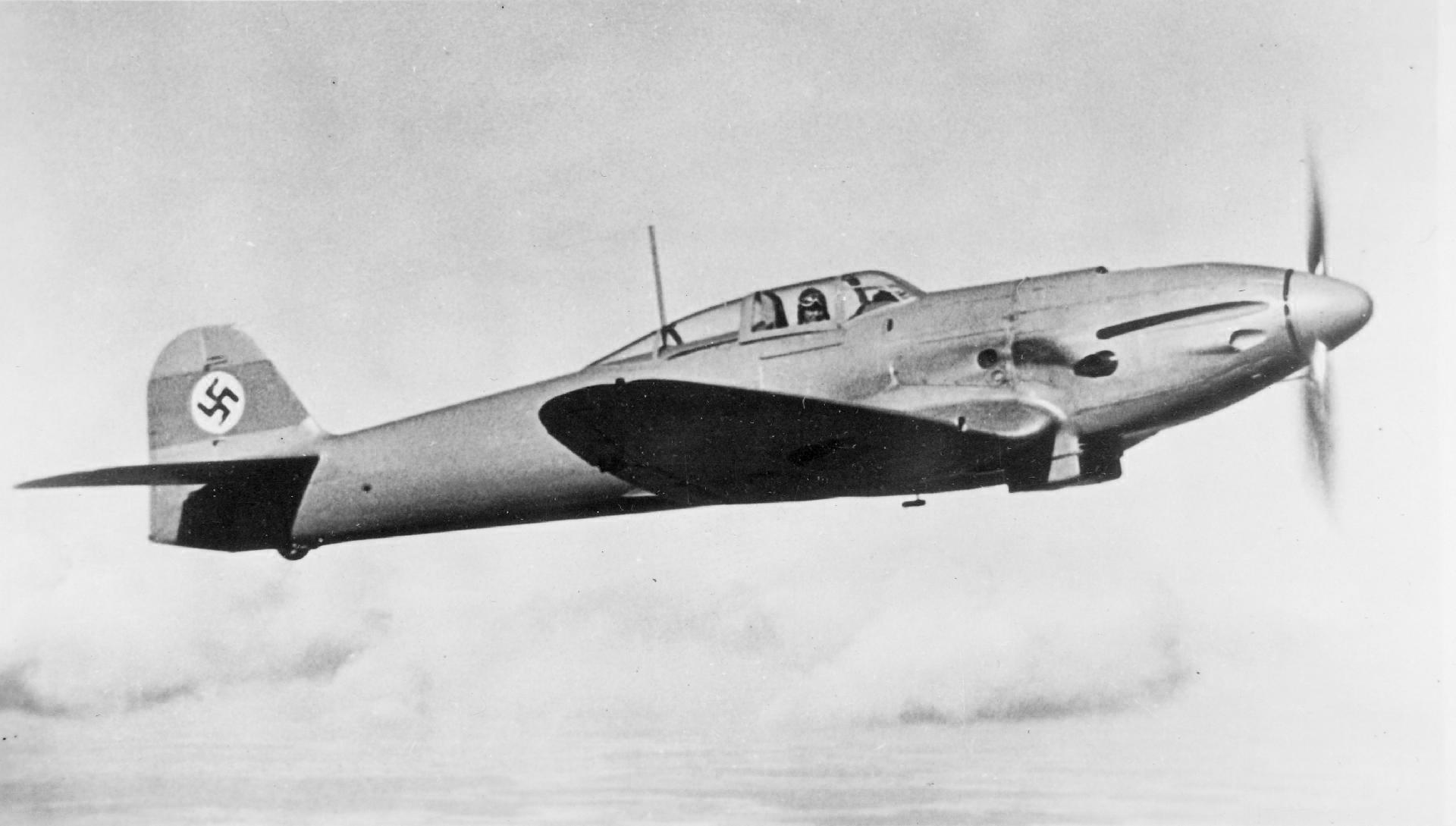 Германский истребитель Heinkel He 112