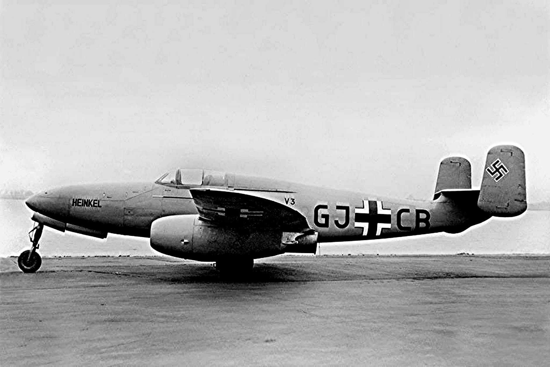 Немецкий истребитель Heinkel He 280